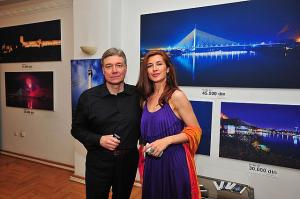 The exhibition in Matica srpska